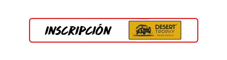 Botón de Inscripción en el Desert Trophy Panda Edition 2017