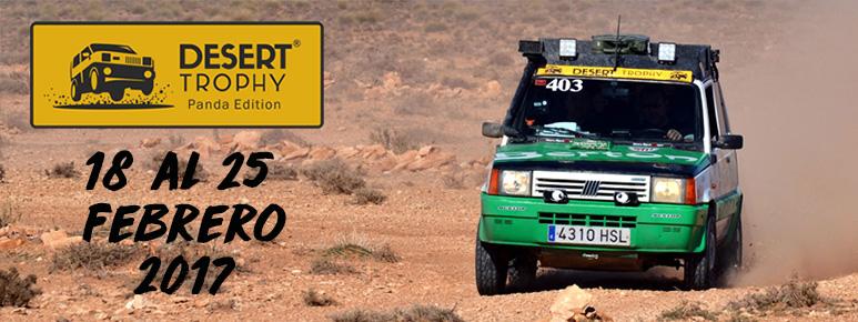 Header imagen de cabecera del evento Desert Trophy Panda Edition 2017