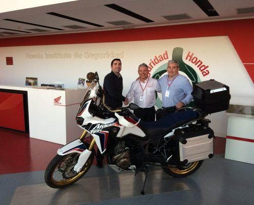 Acuerdo de colaboración entre Honda Motor Europe y Sports Adventure
